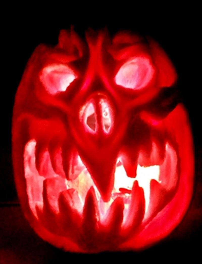 Carving Jack O'lanterns and Thorium Based CloudChambers