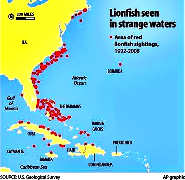 invasion-map-of-lionfish